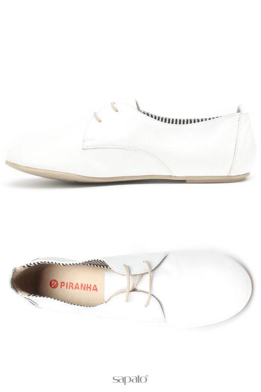 Ботинки Piranha Полуботинки белые