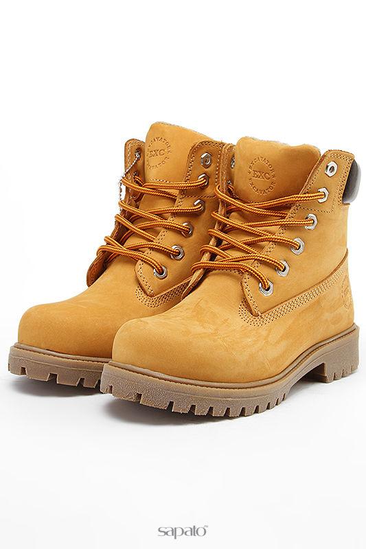 Ботинки Excavator Ботинки жёлтые