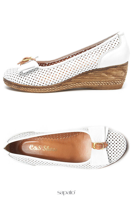 Туфли C&S Туфли белые