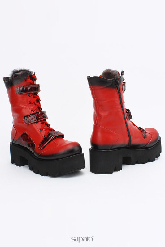 Ботинки SpringWay Ботинки красные