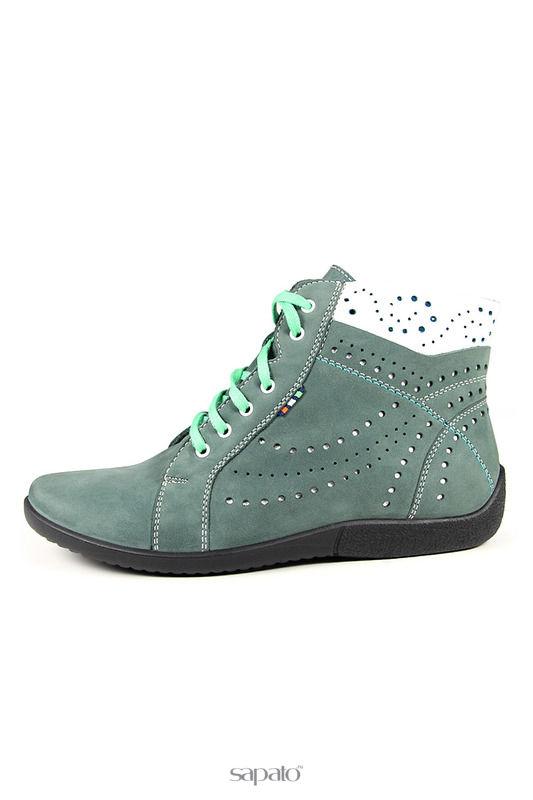 Ботинки Marko Ботинки зеленые