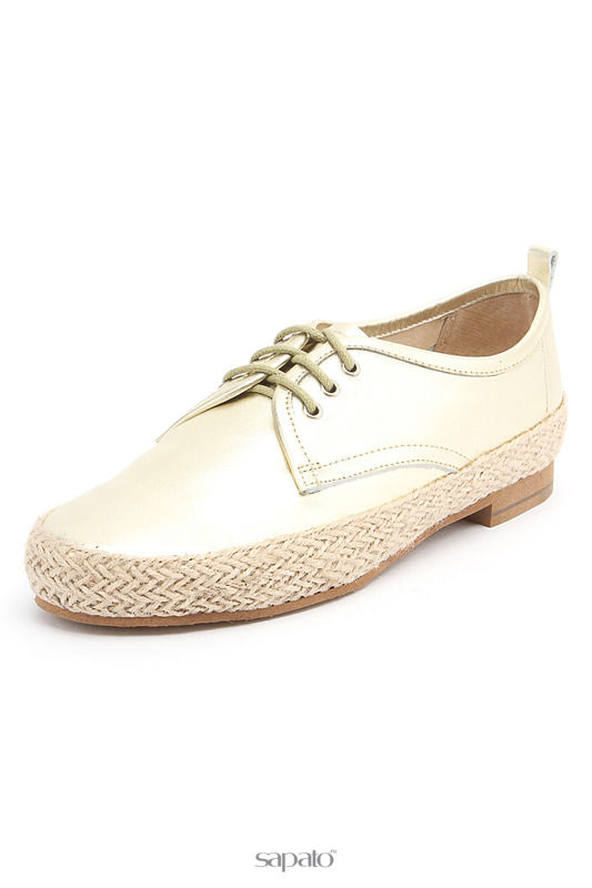 Ботинки Evita Полуботинки золотистые