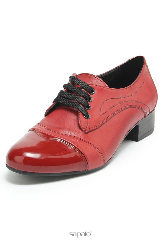 Ботинки SM SHOESMARKET Полуботинки красные