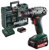 Metabo BS 14.4 2.0Ah x2 Case Set