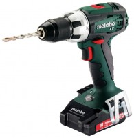 Metabo BS 18 LT 2.0Ah x2 Case Set