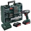 Metabo BS 18 2.0Ah x2 Case Set