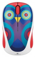 Logitech Wireless Mouse M238 Ophelia Owl White-Purple USB