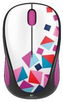 Logitech Wireless Mouse M238 Playing blocks White-Purple USB