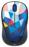Logitech Wireless Mouse M238 Blue Facets White-Blue USB