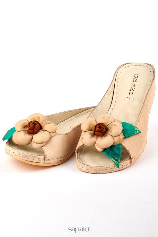 Сабо Grand Style Туфли бежевые