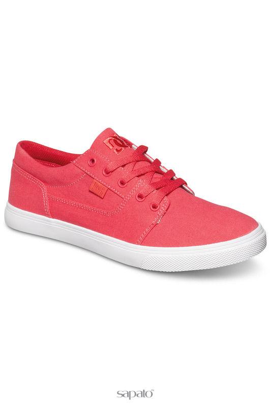 Кеды DC Shoes Полукеды розовые