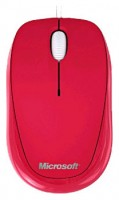 Microsoft Compact Optical Mouse 500 Red USB