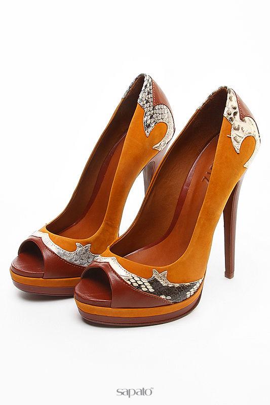 Туфли Schutz Туфли летние открытые коричневые