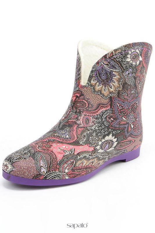 Сапоги Keddo Ботинки фиолетовые