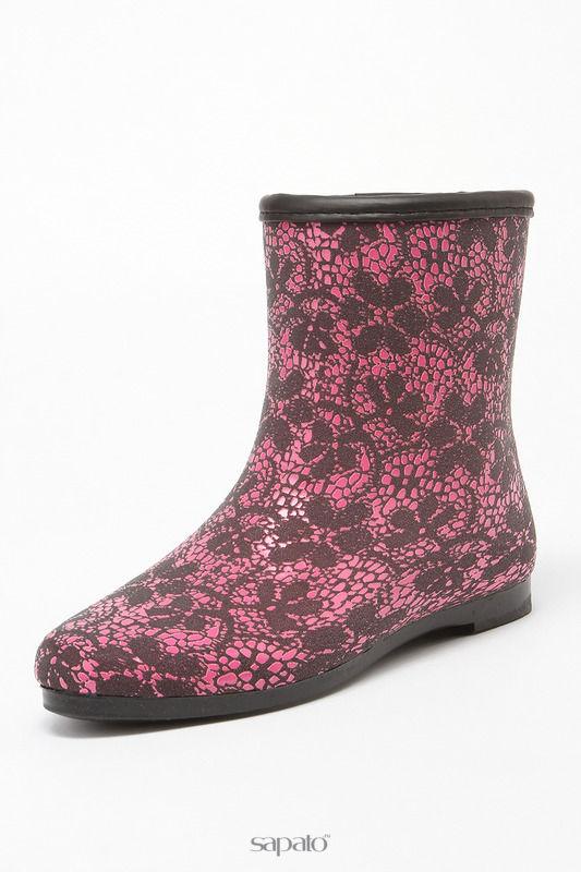 Сапоги Keddo Ботинки розовые