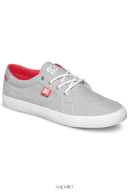 Кеды DC Shoes Полукеды серые