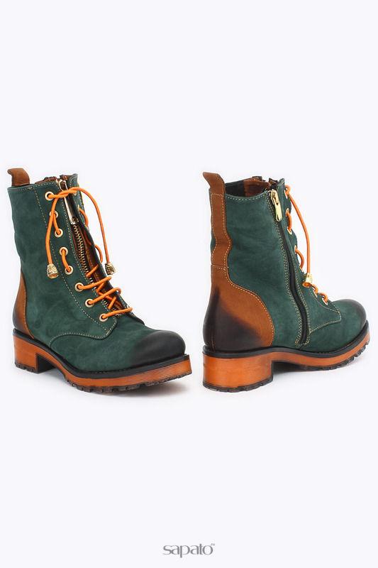Ботинки SpringWay Ботинки зеленые