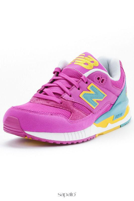 Кроссовки New Balance Кроссовки фиолетовые