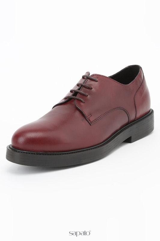 Ботинки Logan Полуботинки красные