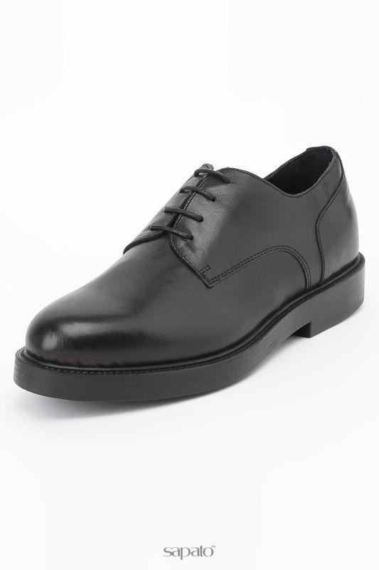 Ботинки Logan Полуботинки чёрные