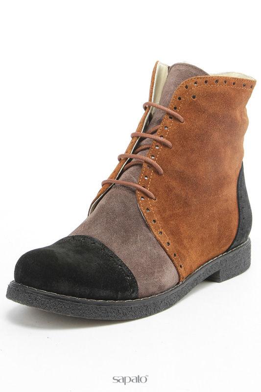 Ботинки Aquamarin Зимние ботинки коричневые