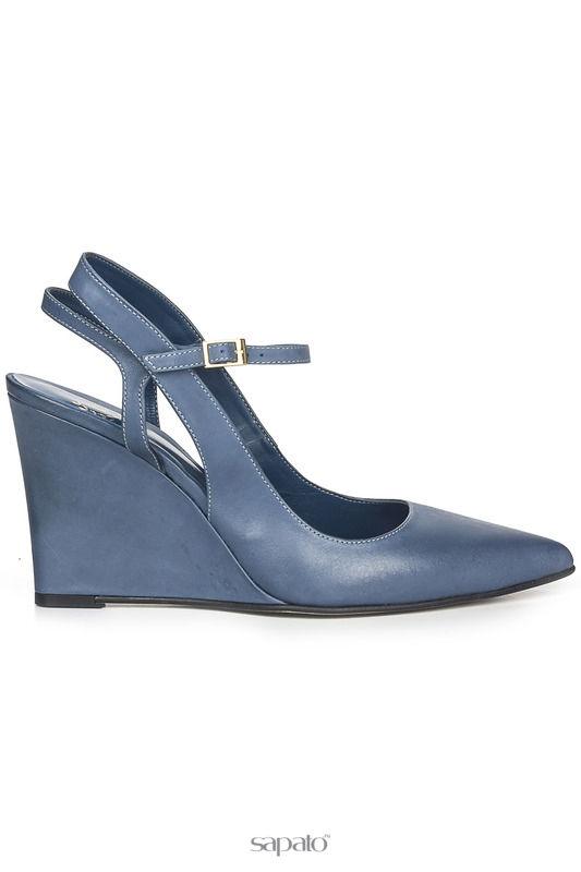 Туфли FEDERICA BASSI Туфли синие