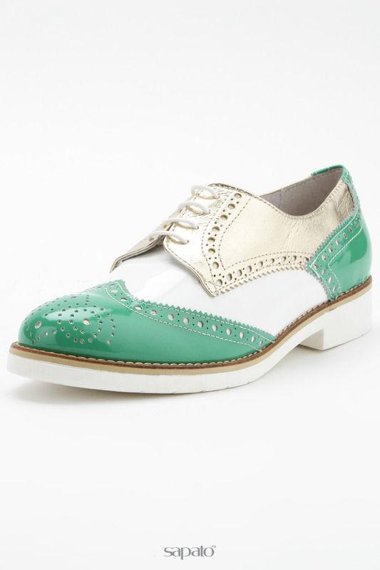 Ботинки SLASH Полуботинки белые