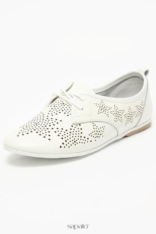 "Ботинки Palazzo D""oro Полуботинки белые"