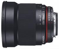 Rokinon 16mm f/2.0 ED AS UMC CS Samsung NX (16M-NX)