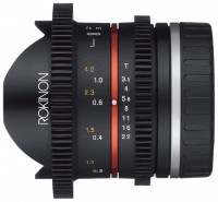 Rokinon 8mm T3.8 Cine UMC Fisheye CS II Samsung NX (CV8MBK31-NX)