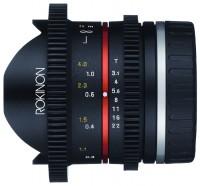 Rokinon 8mm T3.1 Cine UMC Fisheye II Fujifilm X (CV8MBK31-FX)