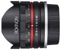Rokinon 8mm f/2.8 UMC Fisheye II Fujifilm X (RK8MBK28-FX)