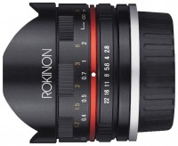 Rokinon 8mm f/2.8 UMC Fisheye II Canon M (RK8MBK28-M)