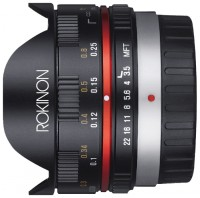 Rokinon 7.5mm f/3.5 IF ED UMC Aspherical Micro Four Thirds (FE75MFT)