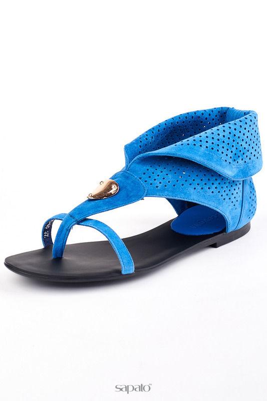 Сандалии Riccorona Летние ботинки синие