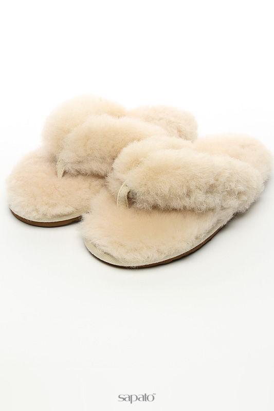 "Домашняя обувь Shepherd""s Life Тапочки белые"