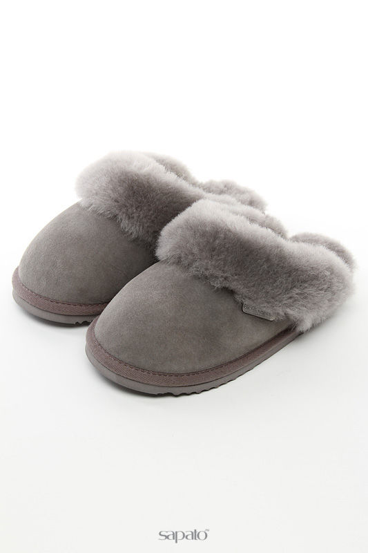 """Домашняя обувь Shepherd""""s Life Тапочки серые"""