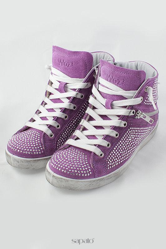 Кеды WOZ Кеды фиолетовые