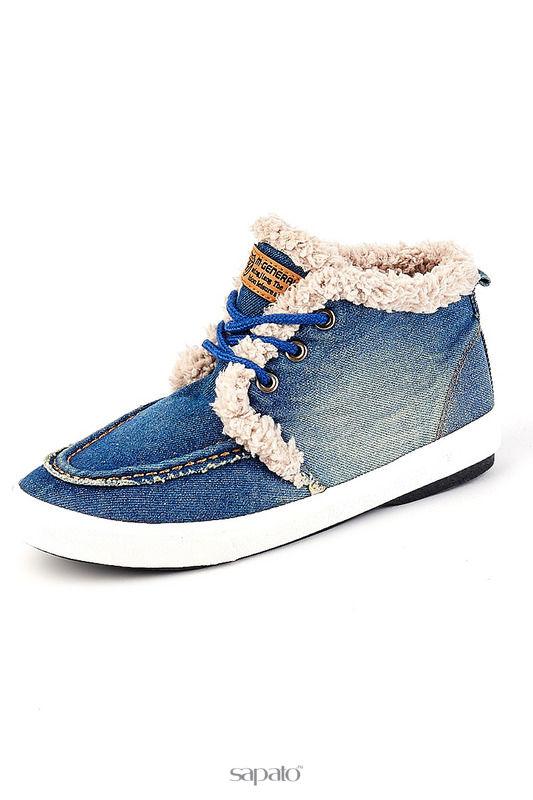Ботинки Vita Ricca Ботинки голубые