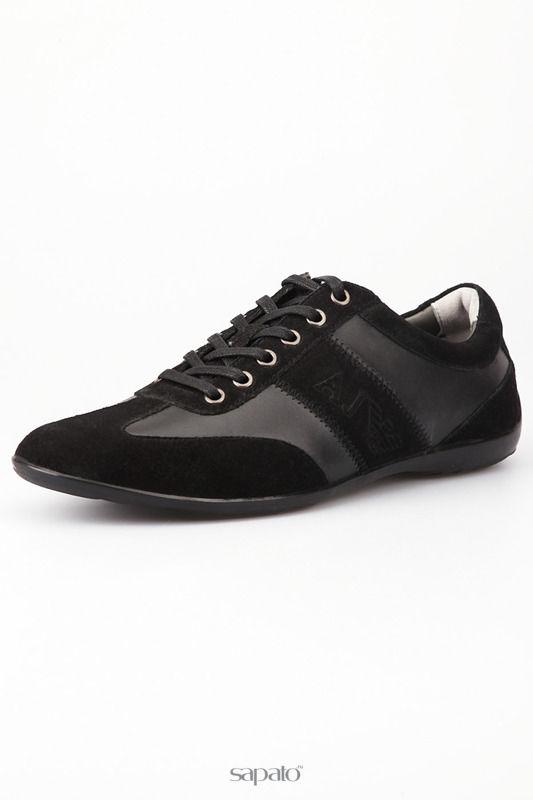 Кроссовки Armani Jeans Сникерсы чёрные