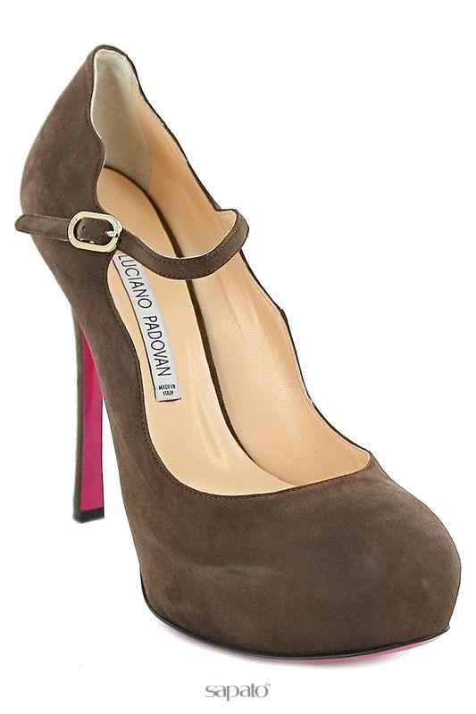Туфли Luciano Padovan Туфли на платформе коричневые