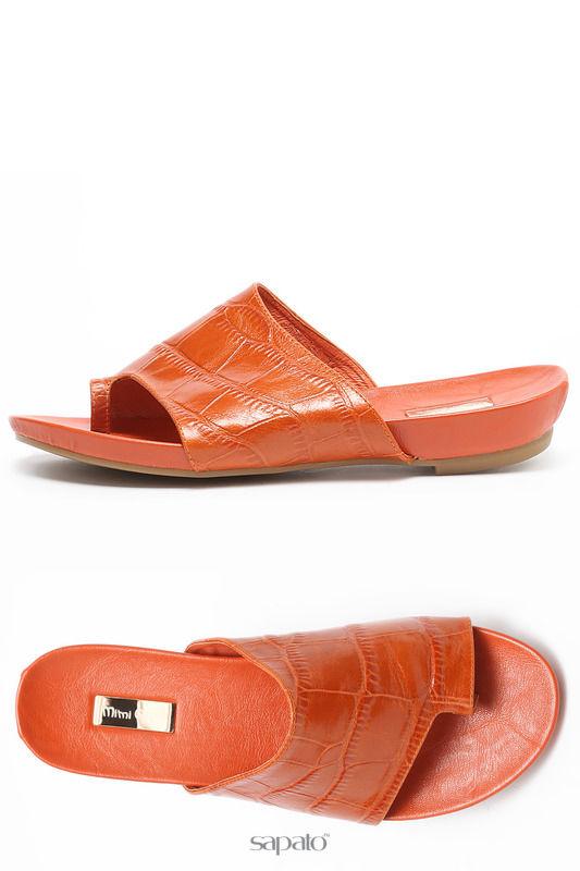 Сабо Mimi Clark Туфли открытые оранжевые