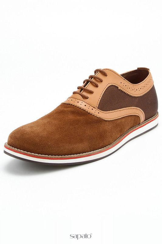 Ботинки Tervolina Полуботинки коричневые
