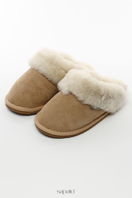 "Домашняя обувь Shepherd""s Life Тапочки бежевые"