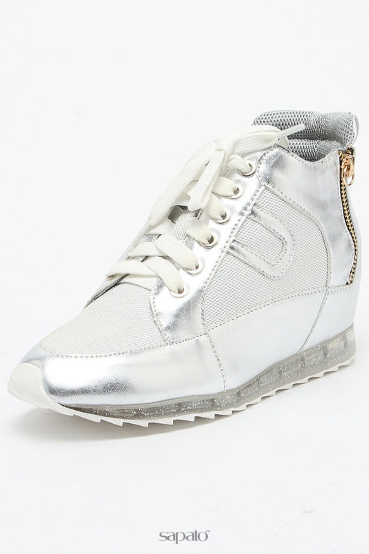 Ботинки Daze Ботинки серебристые
