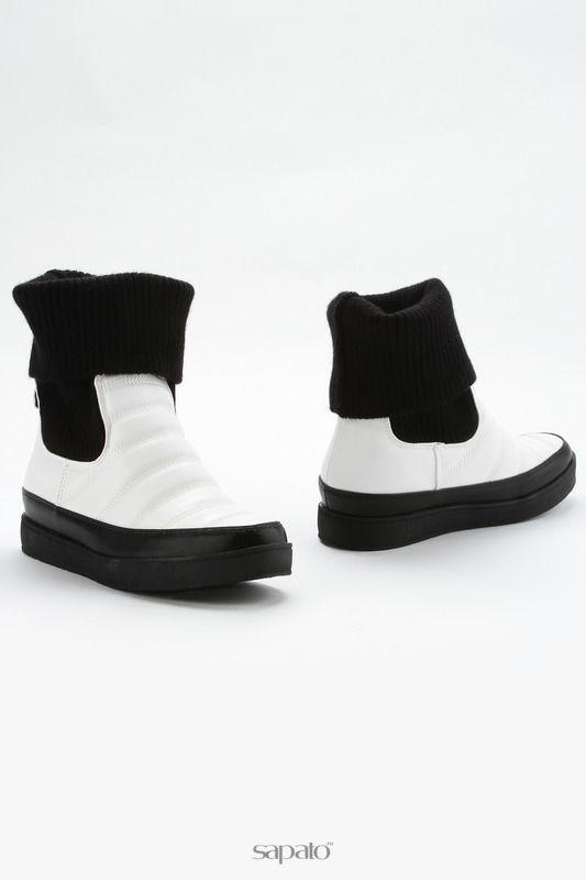 Ботинки NOBBARO Ботинки белые