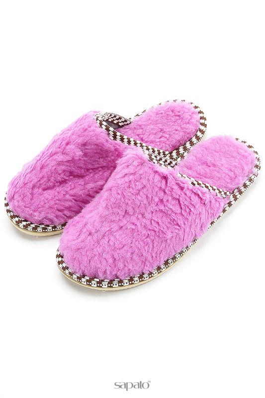 Домашняя обувь NOBBARO Туфли комнатные фиолетовые