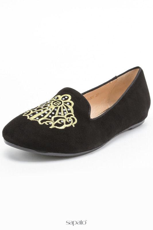 Туфли Vasconte Слиперы чёрные