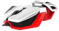 Mad Catz R.A.T.1 Mouse White-Red USB