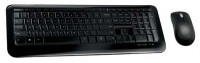 Microsoft Wireless Desktop 850 Black USB